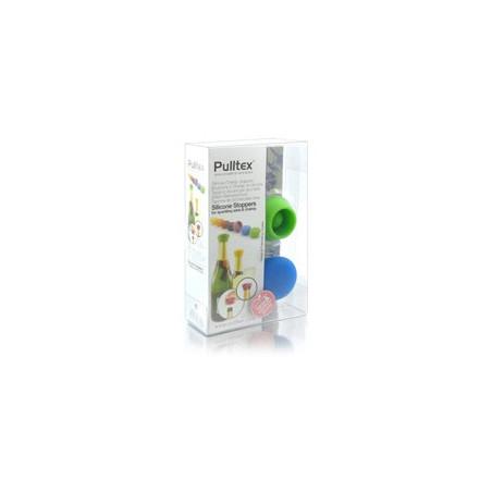 Tapones de silicona para cava Pulltex (2 unidades)