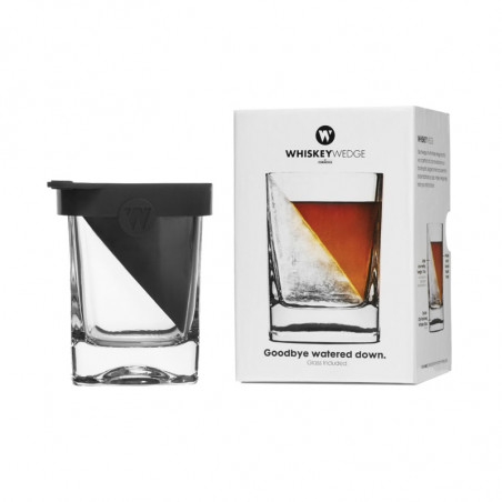 Vaso Whiskey Wedge Corckcicle