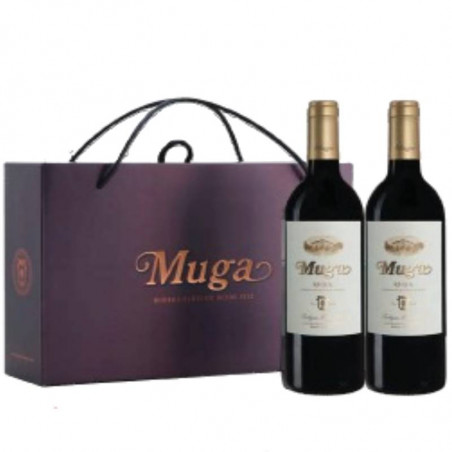 Box 2 bottles Muga Crianza