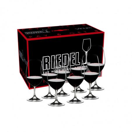 Pack Verres Riedel Vinum Cabernet – Merlot (6+2 verres)
