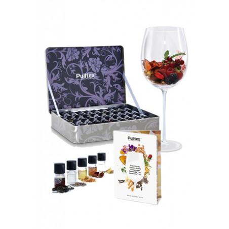 Set completo de aromas de vino Pulltex