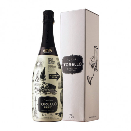 Torelló Brut Special Edition with case